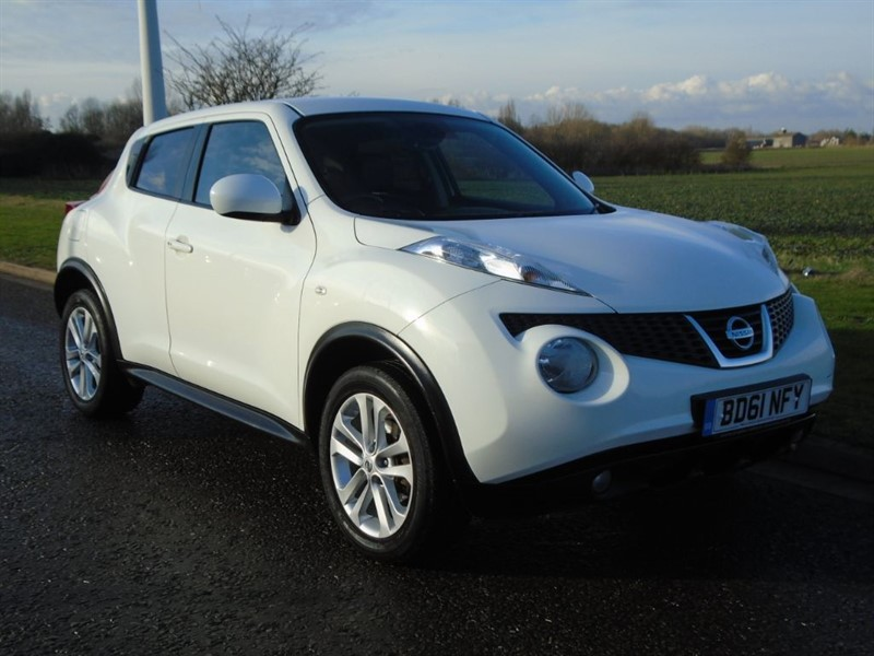 used Nissan Juke TEKNA DCI in march-cambridgeshire