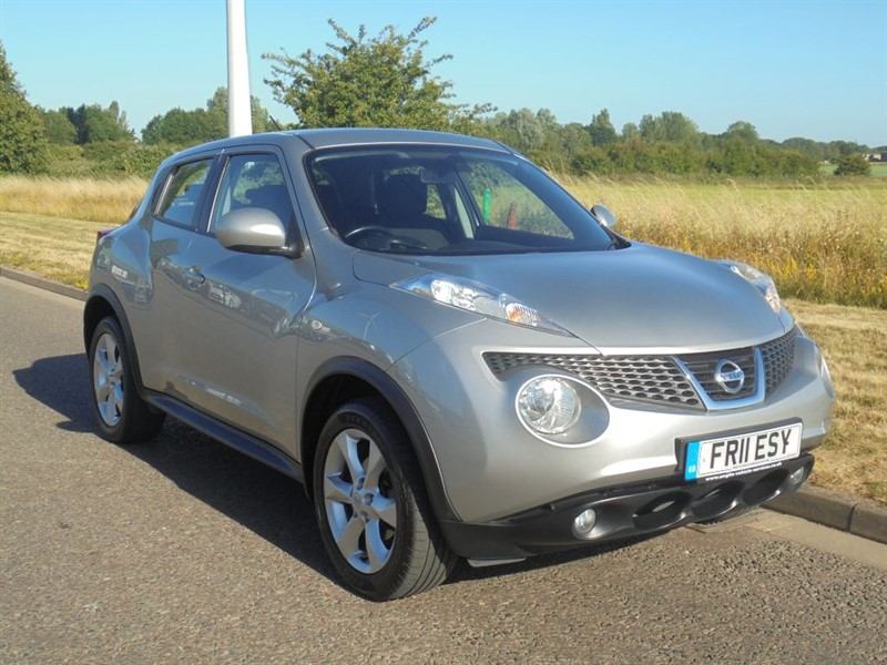 used Nissan Juke ACENTA in march-cambridgeshire