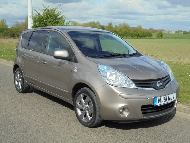 used Nissan Note N-TEC in march-cambridgeshire