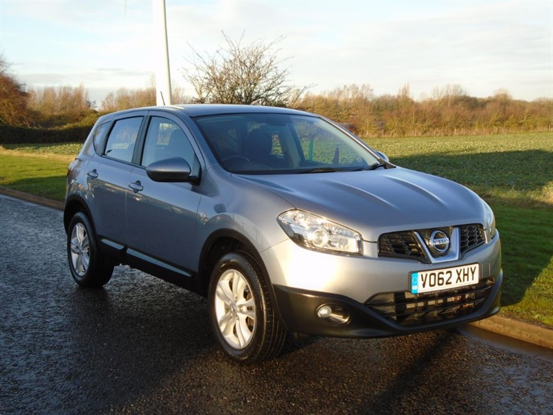 used Nissan Qashqai ACENTA DCI in march-cambridgeshire