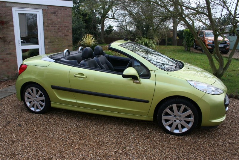 used Peugeot 207 GT COUPE CABRIOLET in march-cambridgeshire