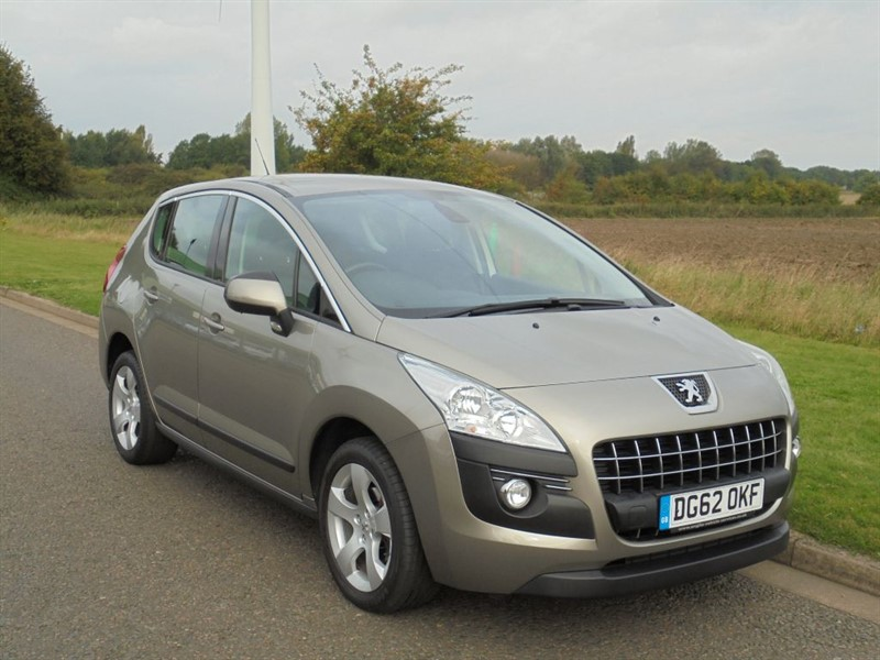 used Peugeot 3008 ACTIVE HDI FAP in march-cambridgeshire