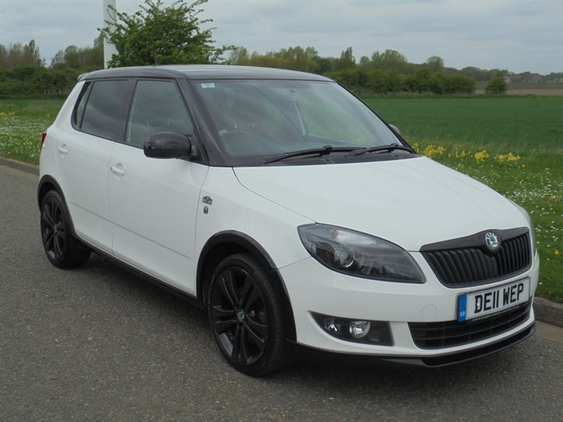 used Skoda Fabia MONTE CARLO TSI in march-cambridgeshire