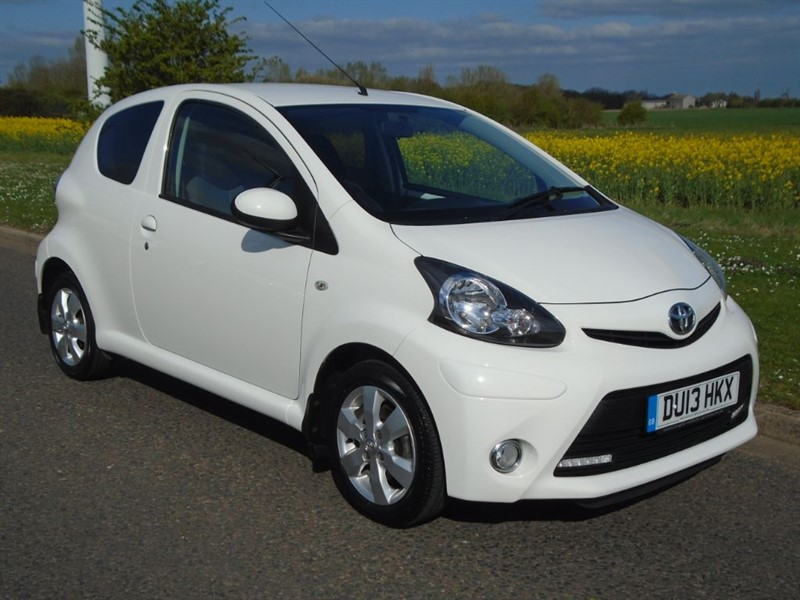 used Toyota Aygo VVT-I FIRE in march-cambridgeshire