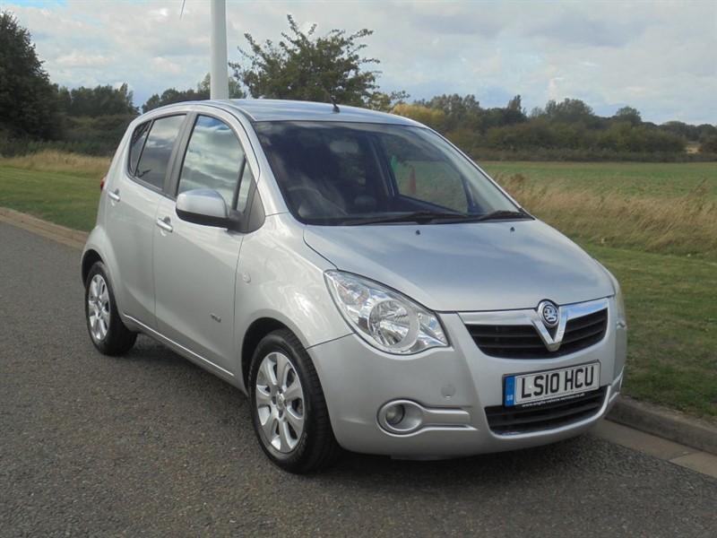 used Vauxhall Agila DESIGN in march-cambridgeshire