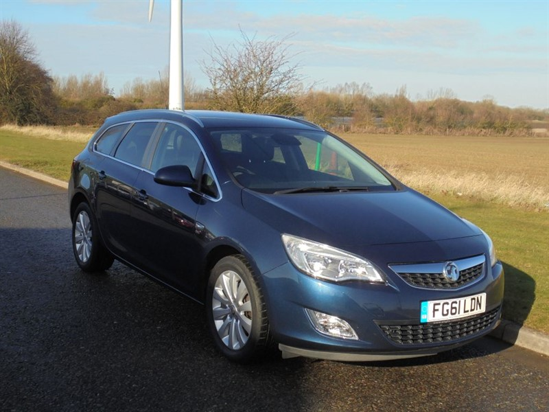 used Vauxhall Astra SE ECOFLEX 123 in march-cambridgeshire