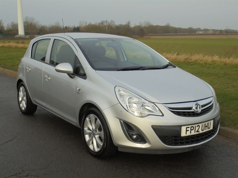 used Vauxhall Corsa ACTIVE AC in march-cambridgeshire