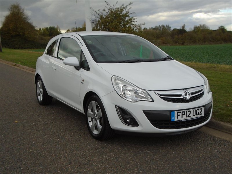 used Vauxhall Corsa ACTIVE in march-cambridgeshire