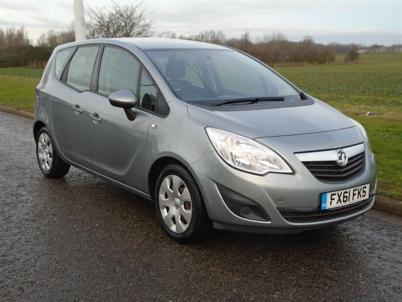 used Vauxhall Meriva Exclusive in march-cambridgeshire