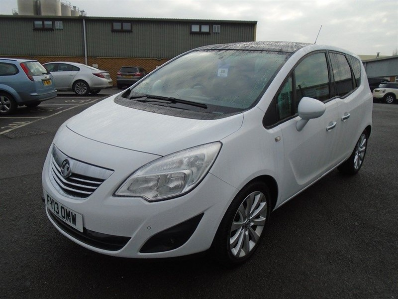 used Vauxhall Meriva SE in march-cambridgeshire