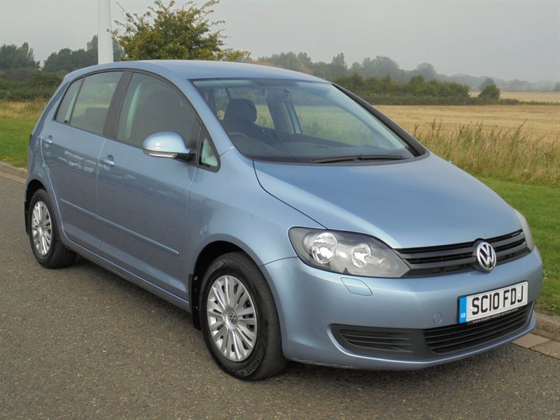 used VW Golf Plus BLUEMOTION S TDI in march-cambridgeshire