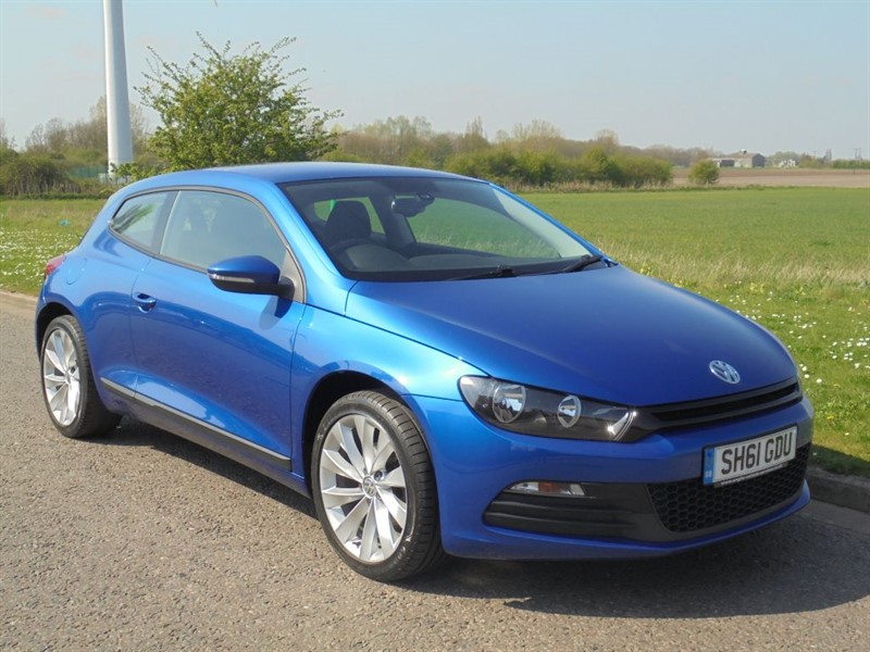 used VW Scirocco TDI BLUEMOTION TECHNOLOGY in march-cambridgeshire
