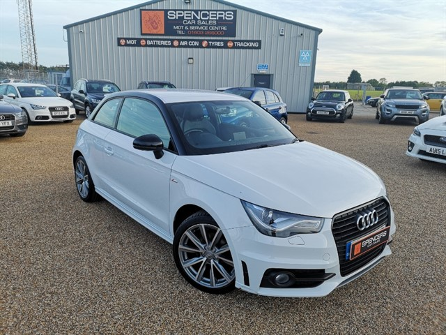 used Audi A1 TDI S LINE STYLE EDITION in norwich