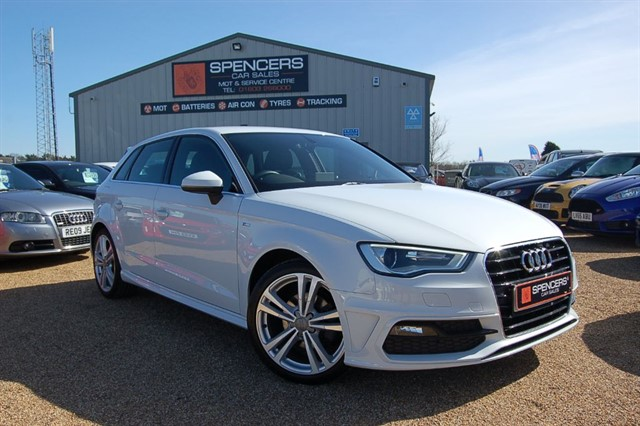 used Audi A3 TFSI S LINE in norwich