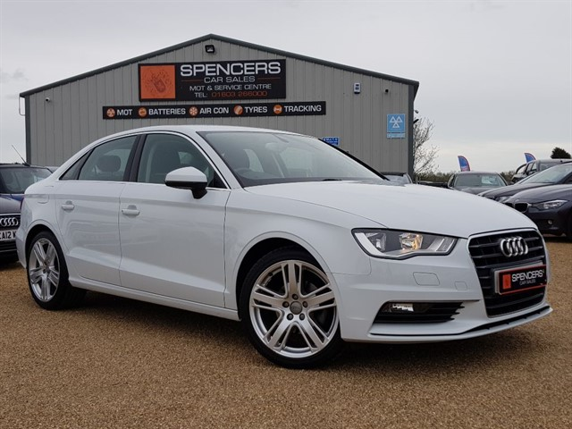 used Audi A3 TFSI SPORT in norwich