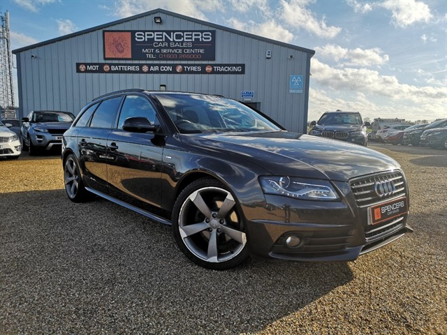 used Audi A4 AVANT TDI S LINE BLACK EDITION in norwich