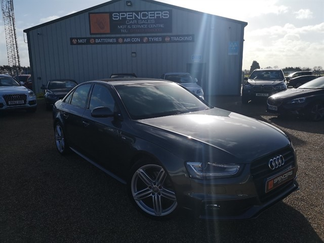 used Audi A4 TDI S LINE BLACK EDITION in norwich