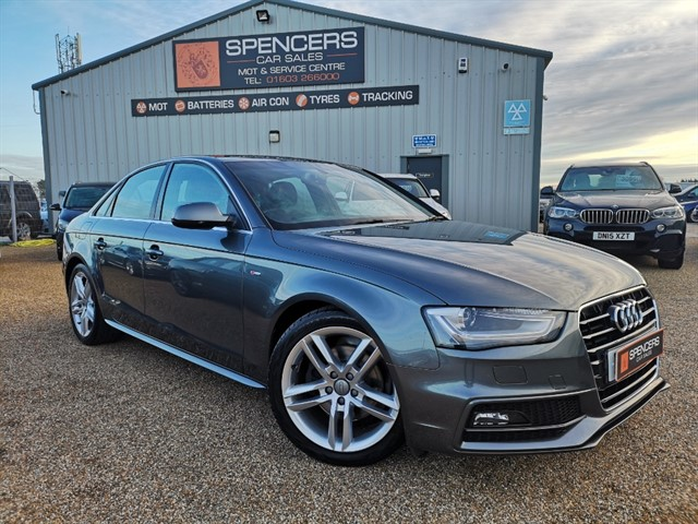 used Audi A4 TDI S LINE NAV in norwich
