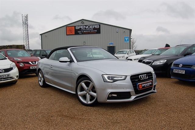 used Audi A5 TDI QUATTRO S LINE S/S in norwich