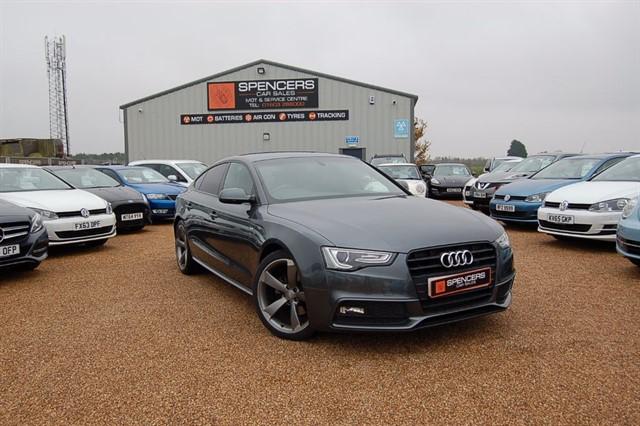used Audi A5 SPORTBACK TDI S LINE BLACK EDITION S/S in norwich