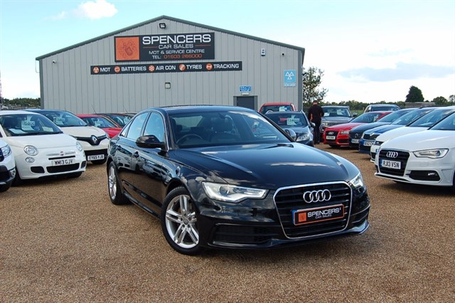 used Audi A6 TDI S LINE in norwich