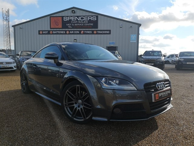 used Audi TT TFSI QUATTRO BLACK EDITION in norwich