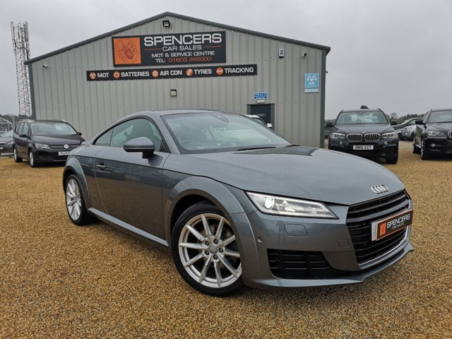 used Audi TT TFSI SPORT in norwich