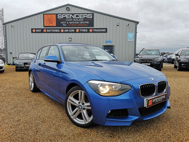 used BMW 116d M SPORT in norwich