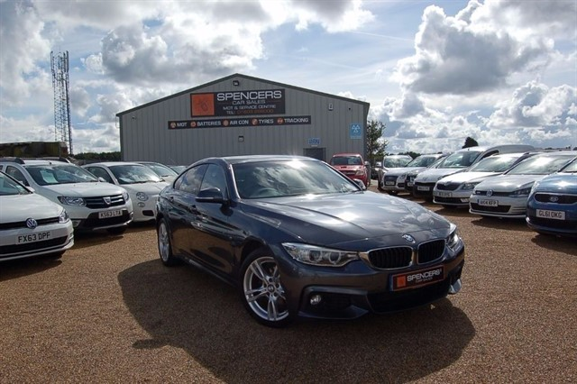 used BMW 420d M SPORT GRAN COUPE in norwich