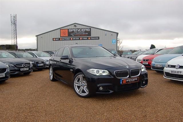 used BMW 520d M SPORT in norwich