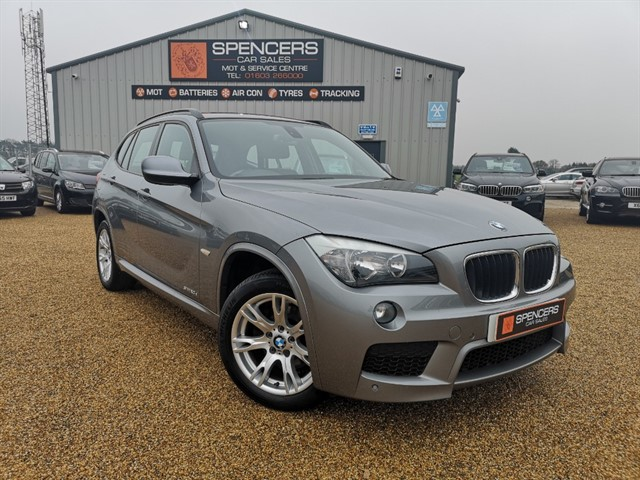 used BMW X1 SDRIVE20D M SPORT in norwich