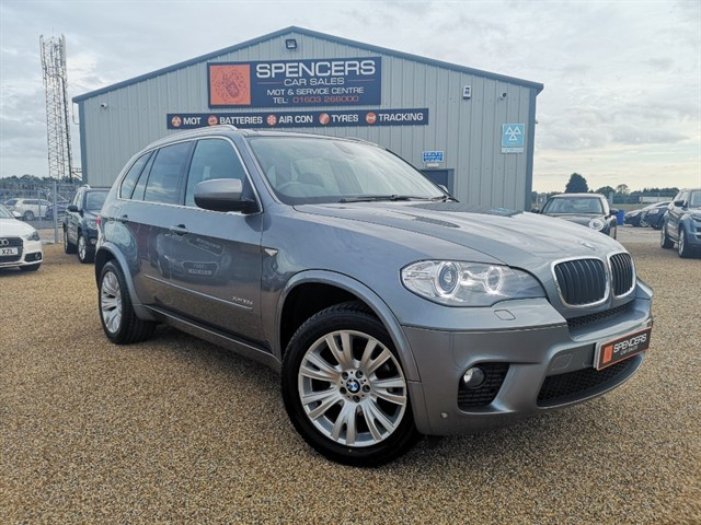 used BMW X5 XDRIVE30D M SPORT in norwich