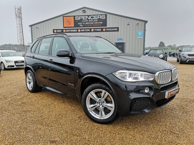 used BMW X5 XDRIVE40D M SPORT in norwich