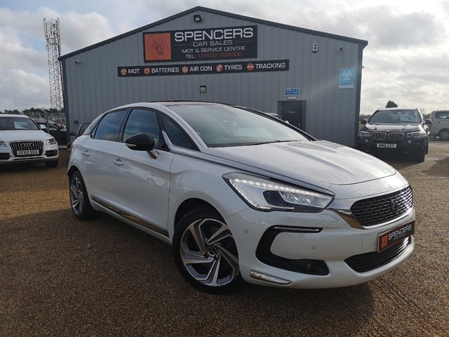 used Citroen DS5 BLUE HDI PRESTIGE in norwich
