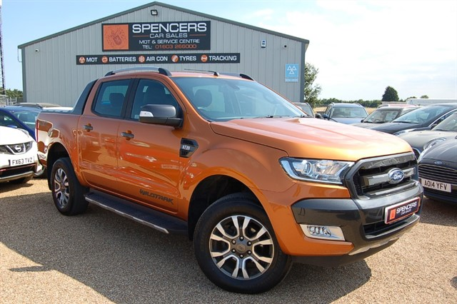 used Ford Ranger WILDTRAK 4X4 DCB TDCI in norwich