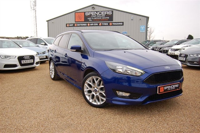 used Ford Focus ST-LINE in norwich