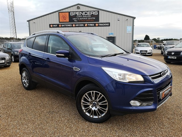 used Ford Kuga TITANIUM TDCI in norwich