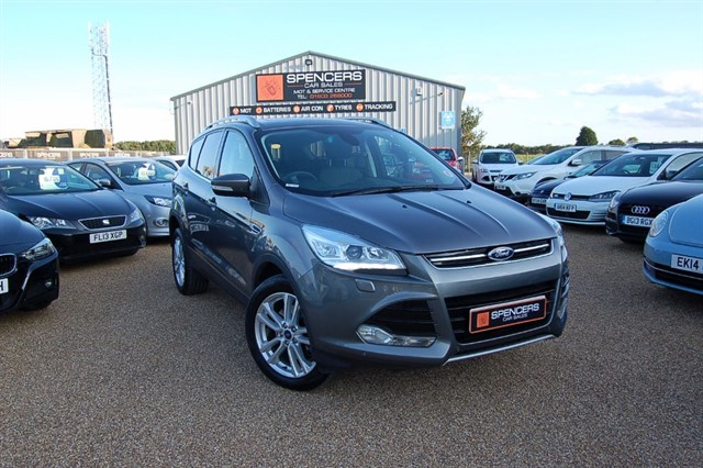 used Ford Kuga TITANIUM X TDCI in norwich