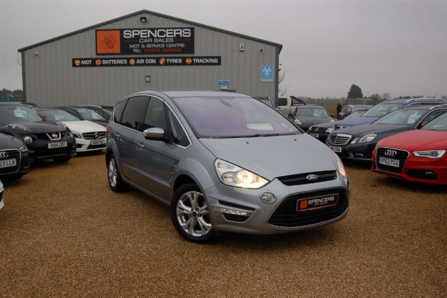 used Ford S-Max TITANIUM TDCI in norwich