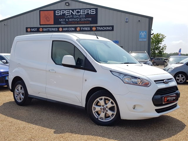 used Ford Transit Connect 200 LIMITED P/V in norwich