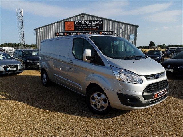 used Ford Transit Custom 290 LIMITED LR DCB in norwich