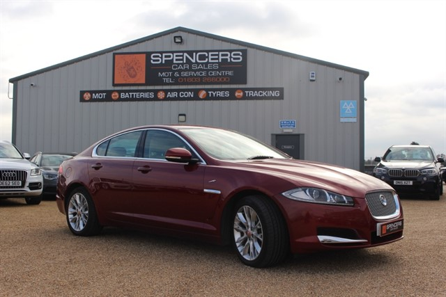 used Jaguar XF V6 LUXURY in norwich