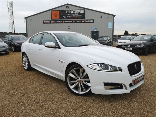 used Jaguar XF D V6 R-SPORT in norwich