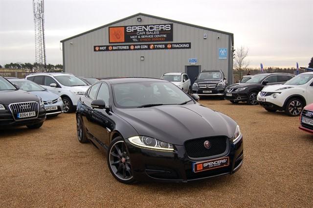 used Jaguar XF D R-SPORT BLACK in norwich