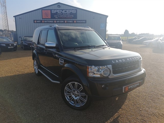 used Land Rover Discovery SDV6 HSE LUXURY in norwich