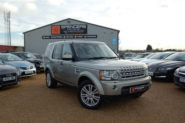used Land Rover Discovery 4 SDV6 HSE in norwich
