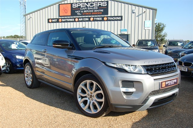 used Land Rover Range Rover Evoque SI4 DYNAMIC in norwich