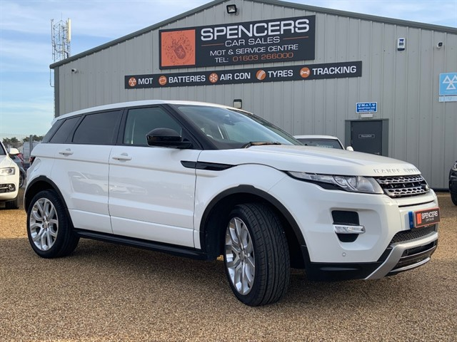 used Land Rover Range Rover Evoque SD4 DYNAMIC in norwich