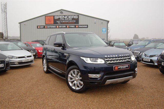 used Land Rover Range Rover Sport SDV6 HSE in norwich