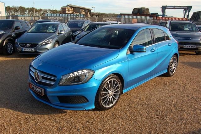 used Mercedes A220 CDI BLUEEFFICIENCY AMG SPORT in norwich